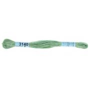 Мулине х/б 8 м Гамма, 3140 бл.-зеленый