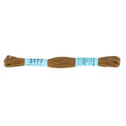 Мулине х/б 8 м Гамма, 3177 коричневый хаки