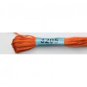 Мулине х/б 8 м Гамма, 3205 св.-коричневый