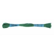 Мулине х/б 8 м Гамма, 3246 зеленый
