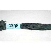 Мулине х/б 8 м Гамма, 3259 серо-зеленый