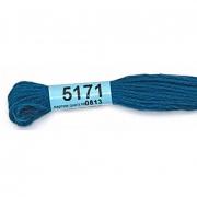Мулине х/б 8 м Гамма, 5171 сине-серый
