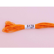 Мулине х/б 8 м Гамма, 5178 оранжевый