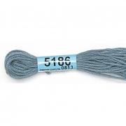 Мулине х/б 8 м Гамма, 5186 серый