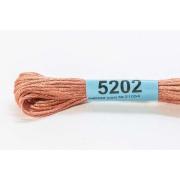 Мулине х/б 8 м Гамма, 5202 св.-коричневый
