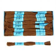 Мулине х/б 8 м Гамма, 3181 св.-коричневый