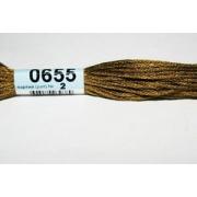 Мулине х/б 8 м Гамма, 0655 т.-горчичный