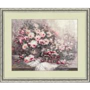 Набор для вышивания Золотое руно СЖ-038 «Розовый Прованс» 30,7*39,6 см