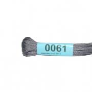 Мулине х/б 8 м Гамма, 0061 серый