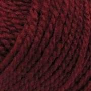 Пряжа Мериносовая, 100 г / 200 м, 007 бордо