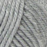 Пряжа Мериносовая, 100 г / 200 м, 386 св.-серый меланж