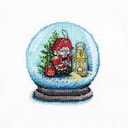 Набор для вышивания HP №976 «Щелкунчик» 11*13 см