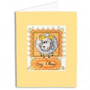 Набор для вышивания Panna ВГ-0866 Открытка «Год Овцы» 9*11 см