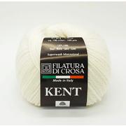 Пряжа Кент (Kent Filatura Di Crosa), 50 г / 150 м  01 молочный