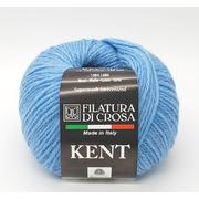 Пряжа Кент (Kent Filatura Di Crosa), 50 г / 150 м 14 т.голубой
