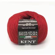 Пряжа Кент (Kent Filatura Di Crosa), 50 г / 150 м 25 т.красный