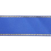 Лента репсовая 25 мм с люрексом (уп. 22,5 м)  С