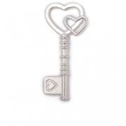 Подвеска MAGIC HOBBY MH.0211101-2 «Ключ» кулон 19*42 мм серебро
