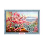 Алмазная мозаика АЖ-1823  «Букет сакуры» 40*60 см