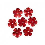 Пайетки «фигурки» Астра звездочки 13 мм (уп. 10 г) 50103 красный
