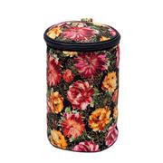 Футляр для пряжи RT-4161 «Цветы» 14*14*22 см