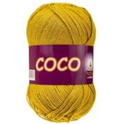 Пряжа Коко Вита (Coco Vita Cotton), 50 г / 240 м, 4335 горчичный