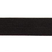 Косая бейка 20 мм стрейч 0320/8 (уп. 50 м)  чёрный  613035