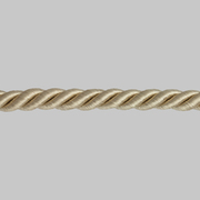 Шнур мебел. с ресницами 6 мм (уп. 25 м) беж. 291