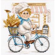 Набор для вышивания Алиса 6-10 «Пекарь» 16*17 см