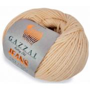 Пряжа Джинс-GZ (Gazzal, Jeans-GZ), 50 г / 170 м, 1116 бл. розовый