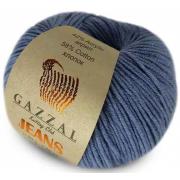 Пряжа Джинс-GZ (Gazzal, Jeans-GZ), 50 г / 170 м, 1133 джинсовый