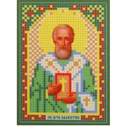 Ткань для вышивания бисером «Русская сказка ММ-054 Св. Валентин» 8*11см