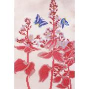 Ткань для вышивания бисером А3 КМЧ-3442 «Сакура» 25*36 см