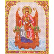 Ткань для вышивания бисером Благовест И-4046 Пр. Державная 20*25 см