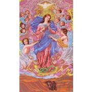 Ткань для вышивания бисером Благовест К-3112 Богородица Завязывающая узлы 30*38 см
