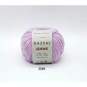 Пряжа Джинс-GZ (Gazzal, Jeans-GZ), 50 г / 170 м, 1141 сиреневый