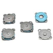 Кнопки пришивные 62146 металл 18 мм магнит уп. 4 шт. 514232  т.никель