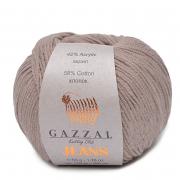 Пряжа Джинс-GZ (Gazzal, Jeans-GZ), 50 г / 170 м, 1112 бежевый