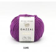 Пряжа Джинс-GZ (Gazzal, Jeans-GZ), 50 г / 170 м, 1145 фиолетовый
