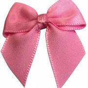 Бант пришивной JY100044 3,3 см розовый