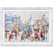 Набор для вышивания Чудесная Игла  №100-250 «Накануне рождества» 31*46 см