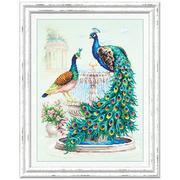 Набор для вышивания Чудесная Игла  №130-001 «Павлины» 30*40 см