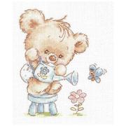 Набор для вышивания Чудесная Игла №17-17 «Мой цветочек» 12*14 см