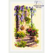 Набор для вышивания Чудесная Игла №74-04 «Уютный уголок» 15*23 см