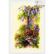 Набор для вышивания Чудесная Игла №74-05 «Балкон возлюбленной» 15*23 см