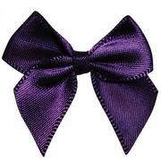 Бант пришивной JY100044 3,3 см фиолетовый