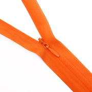 Молния Т3 потайная 50 см 523Б оранжевый