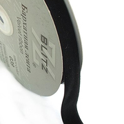 Тесьма бархатная 20 мм Blitz VR-20 (уп. 16,5 м) черн.