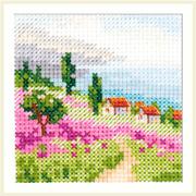 Набор для вышивания Алиса 0-200 «Лаванда у моря» 7*7 см