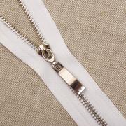 Молния Т5 СПб. 18 см никель/белый 501   13418